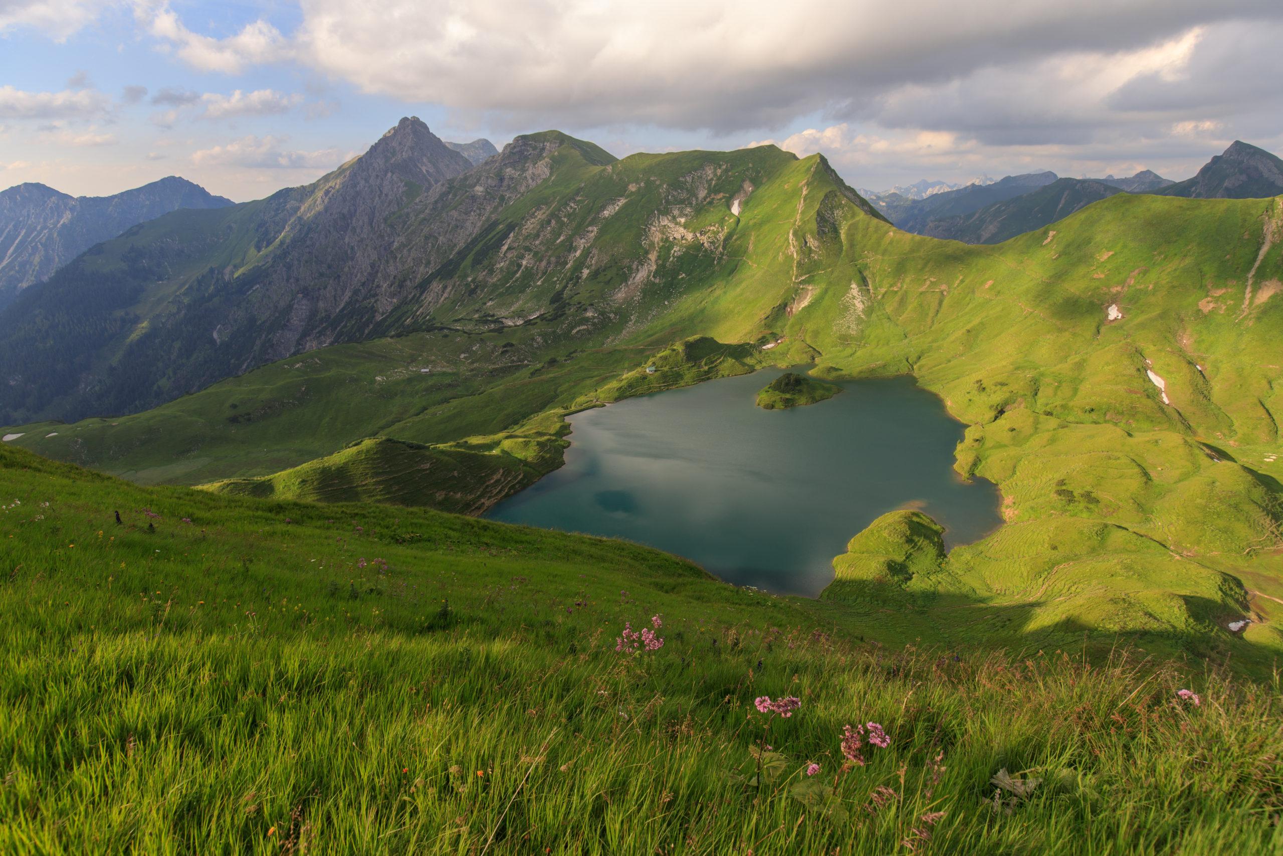 Sommerurlaub in Süddeutschland: Schrecksee Allgäuer Alpen