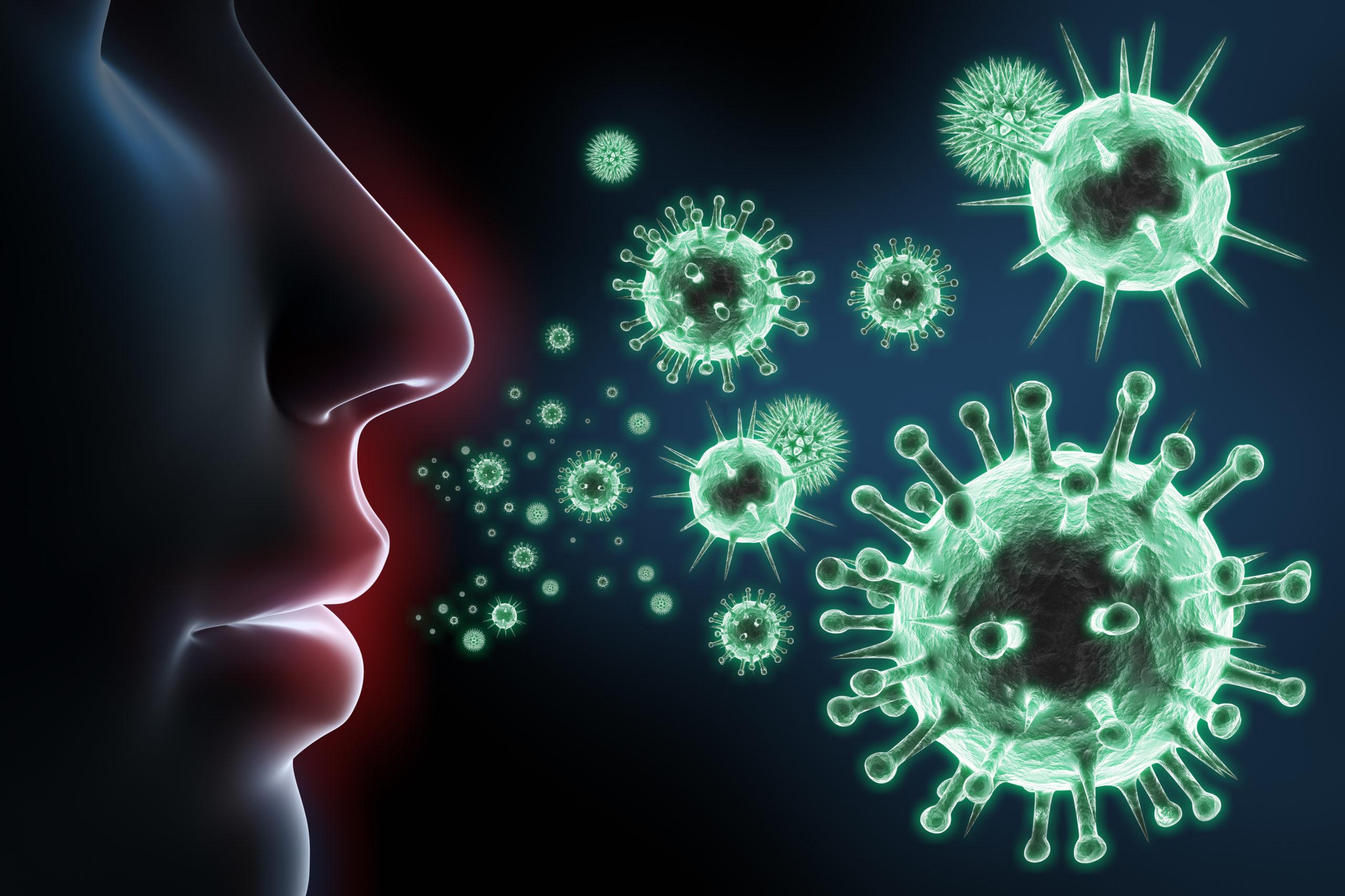 Immunsystem: Eine Frau im Profil