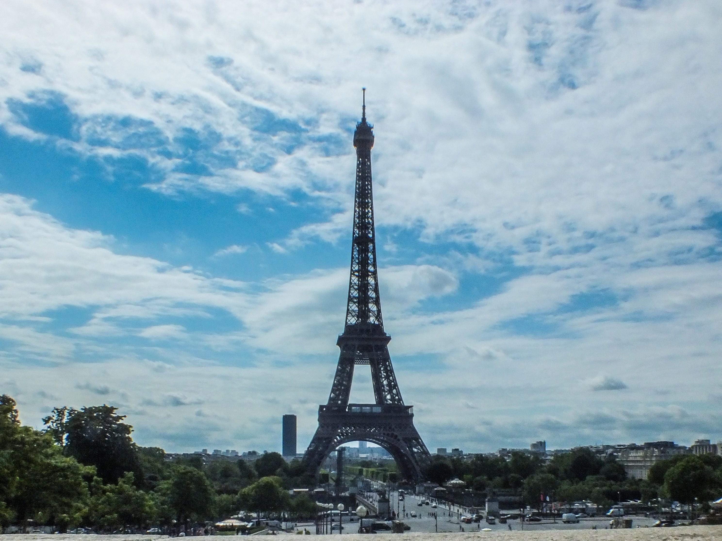 Paris: Blick auf den Eiffelturm