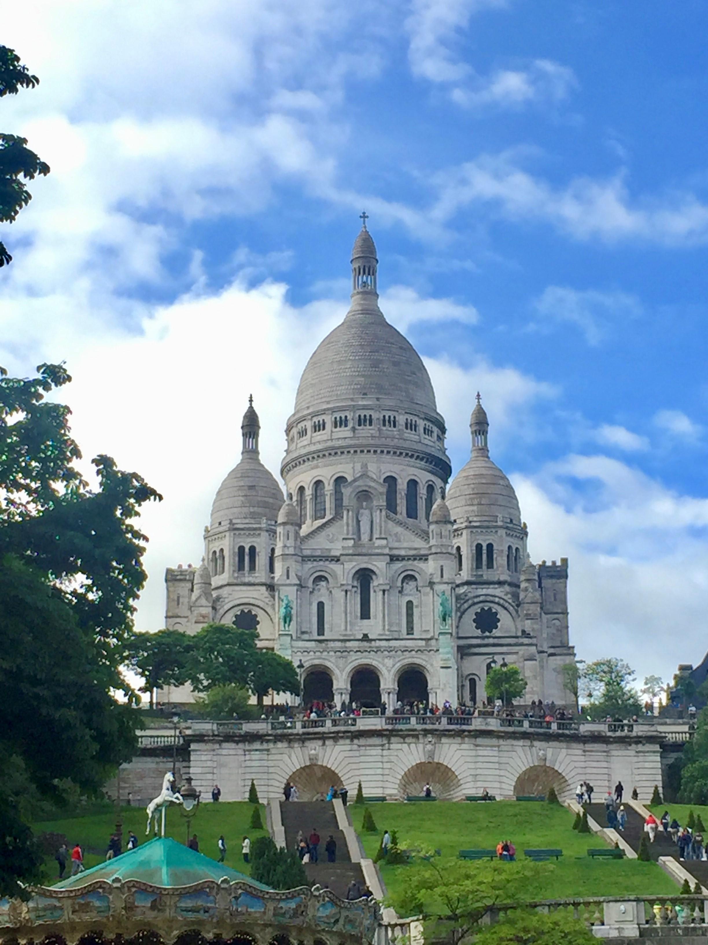 Paris: Blick auf die Sacre Coeur