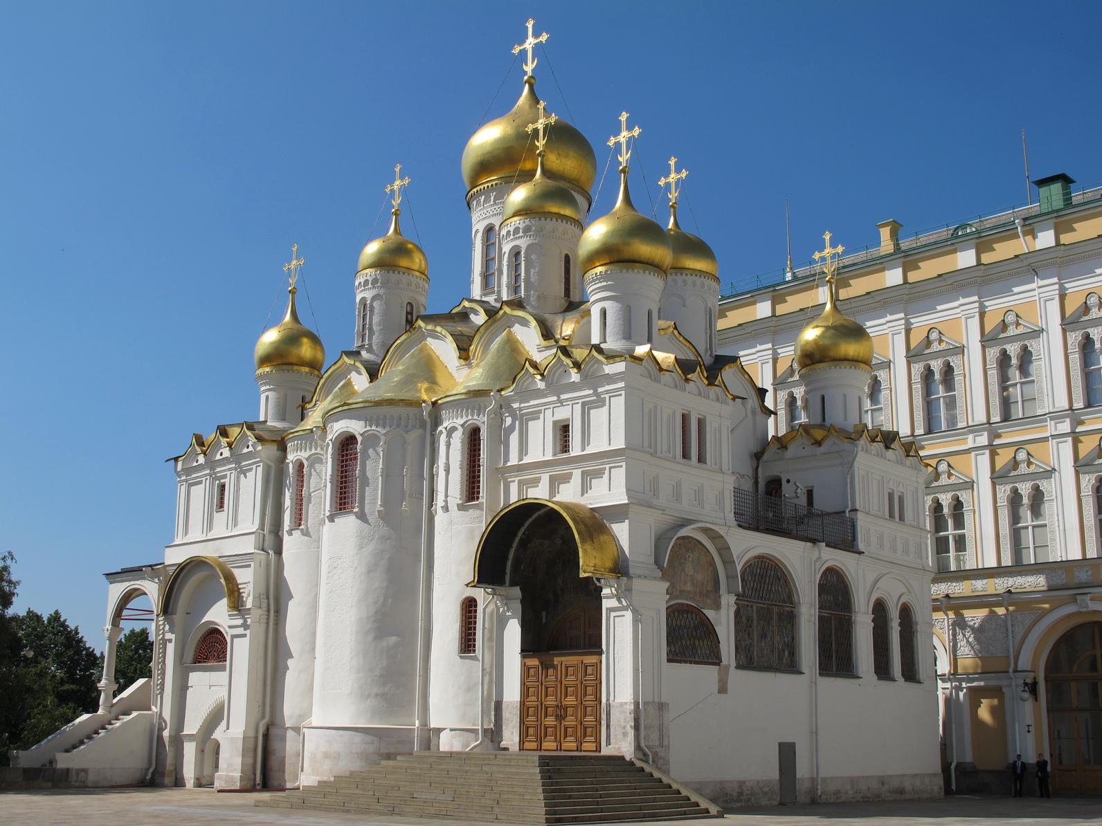 Moskau: Mariae-Verkndigungs-Kathedrale, Kreml