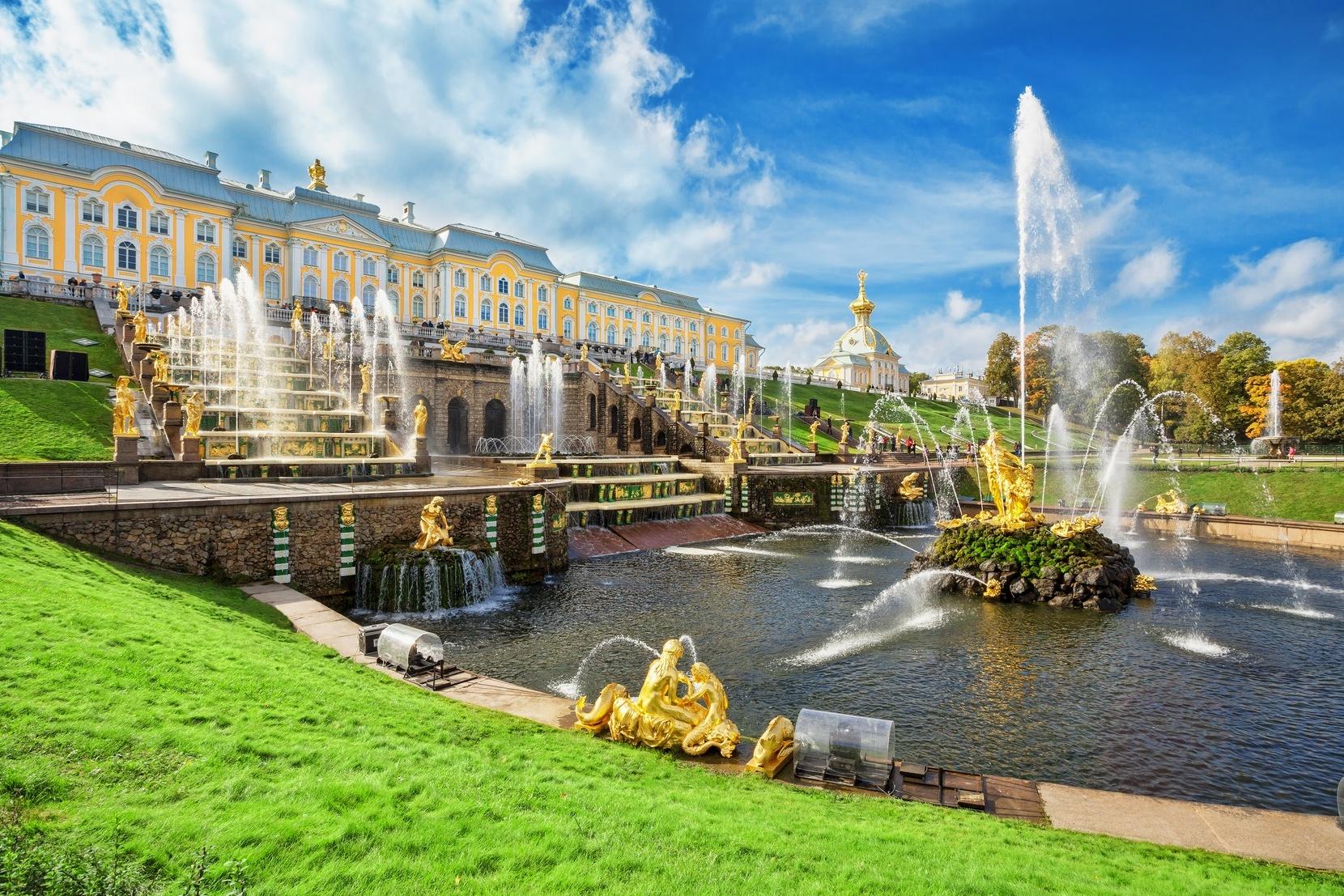 Sankt Petersburg: Petergof