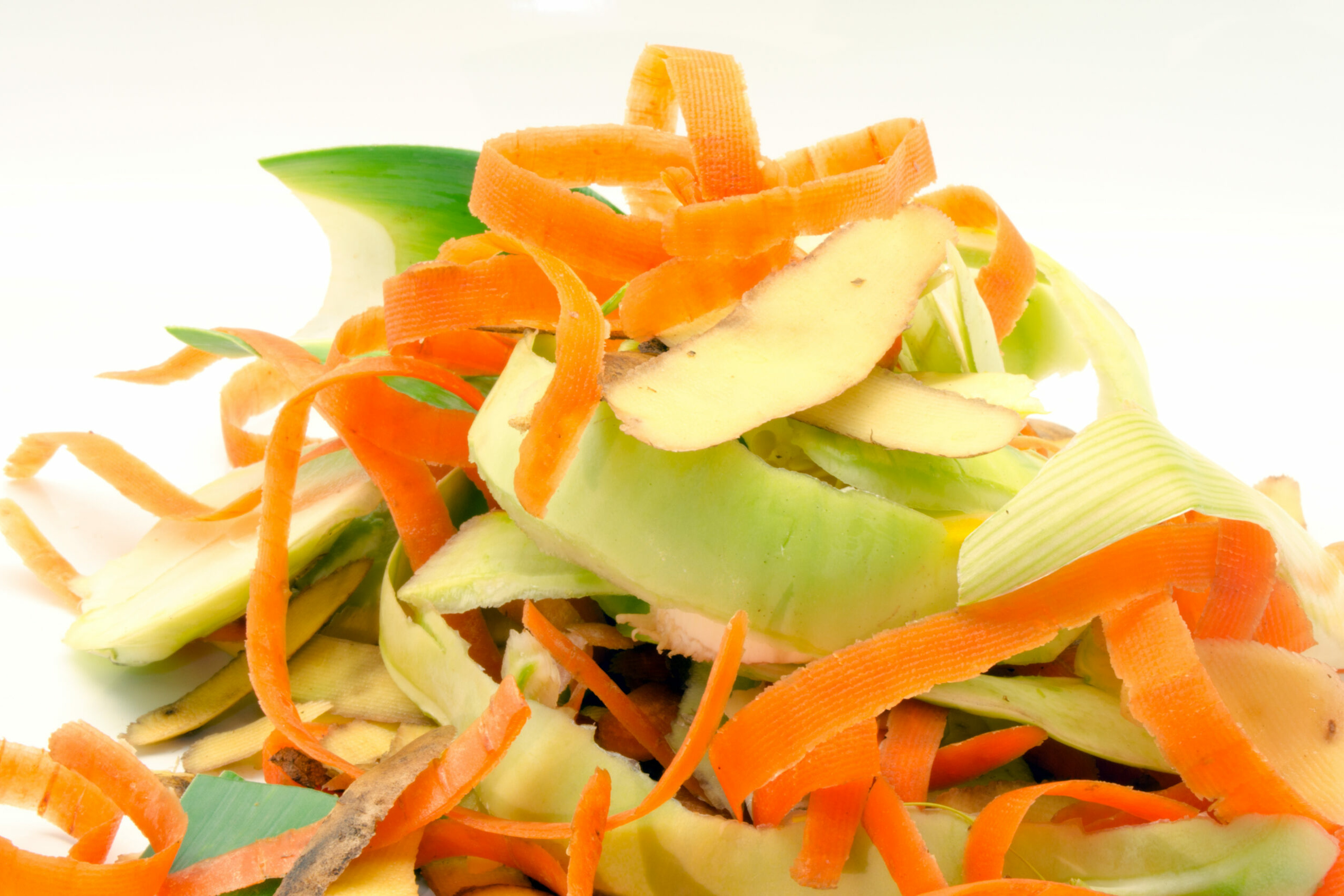 Zero-Waste:: Gemüseschalen
