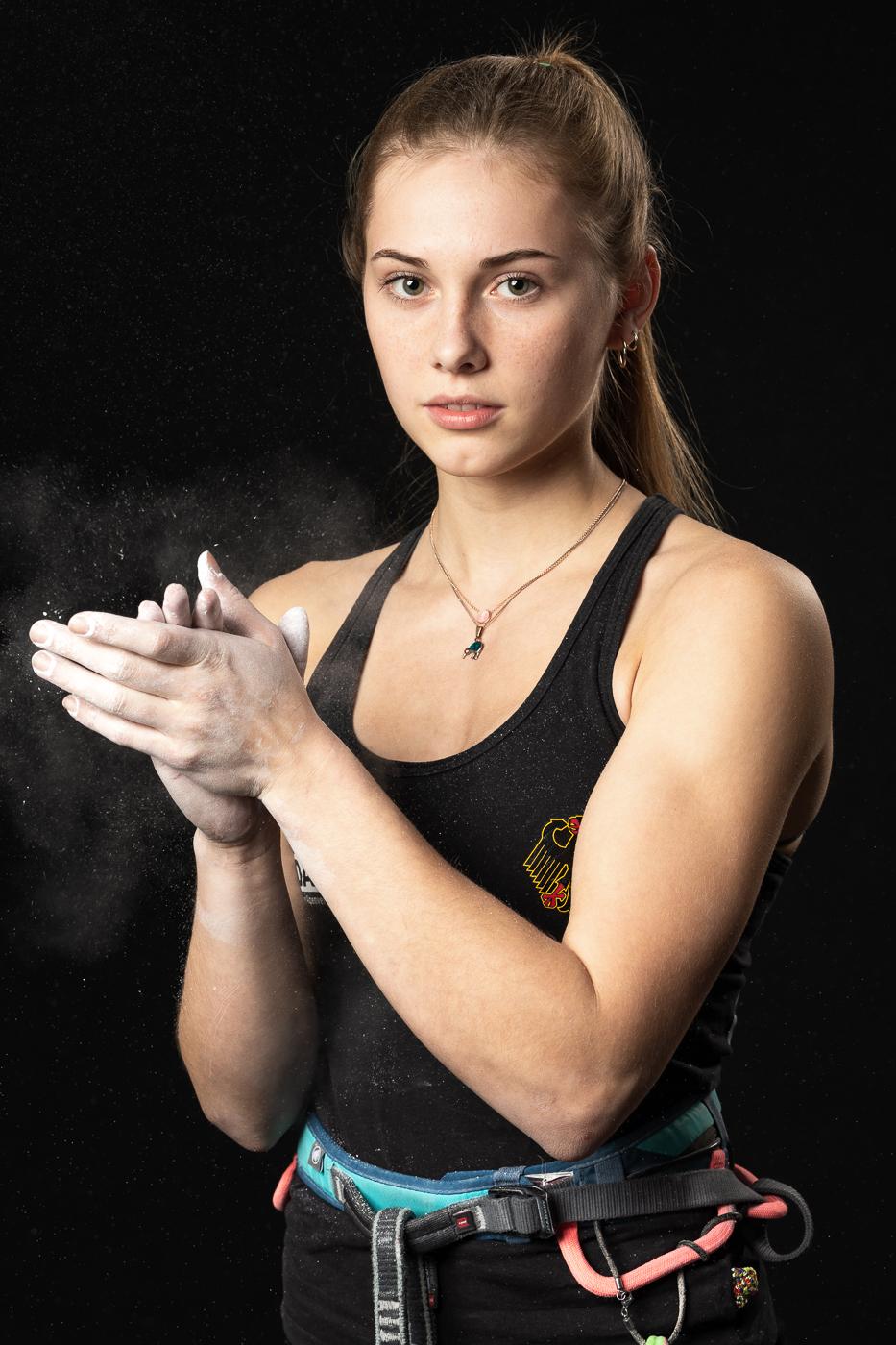 Olympia-PerspektivTeam: Porträt von Hannah Meul