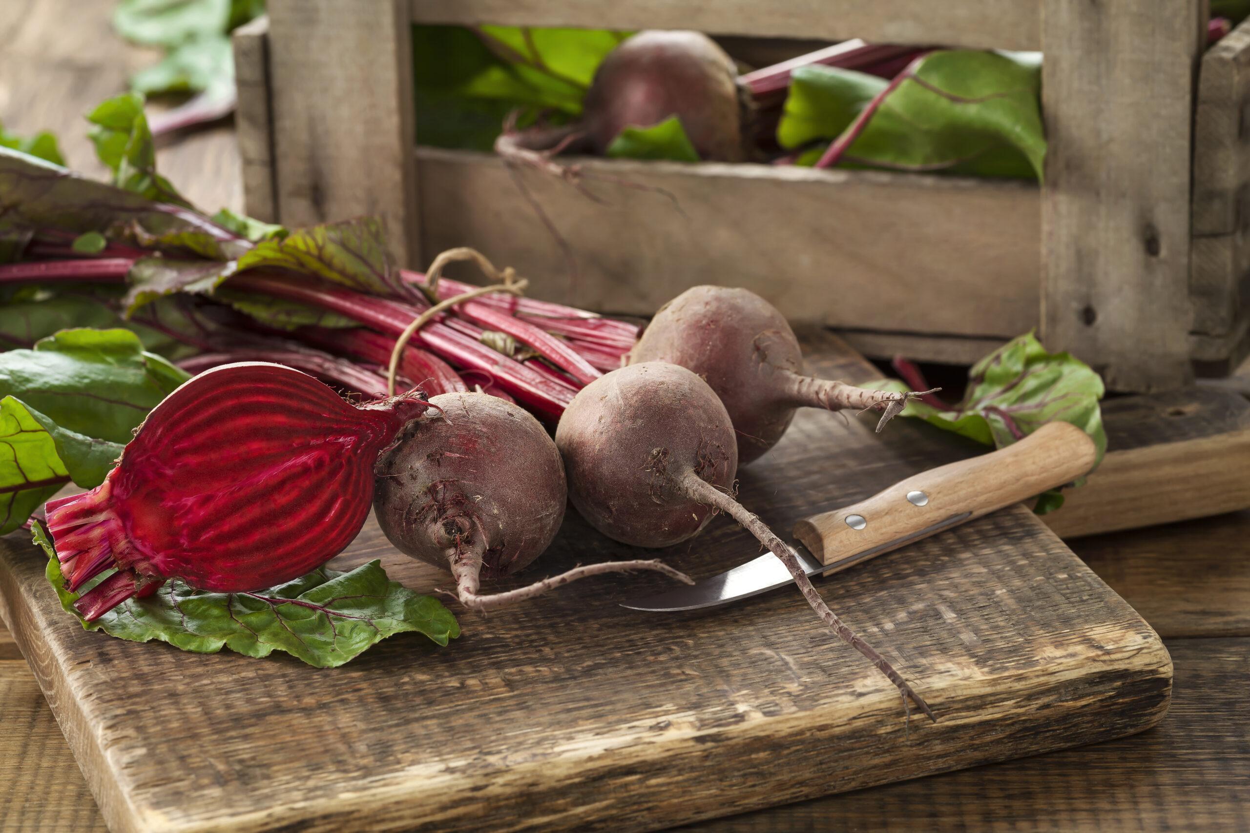 Vitamine für den Herbst: Rote Bete